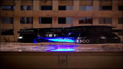 空中に浮かぶホバーボード「Hendo」