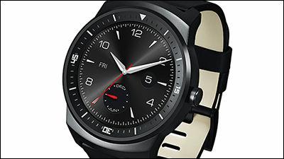 日本でも腕時計っぽくまるい形のスマートウォッチ「LG G Watch R」がauから発売決定、世界初のフル円形 ...