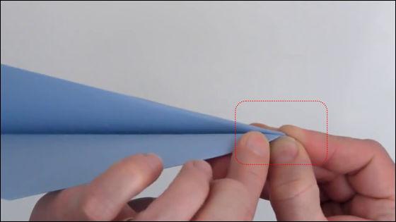 すべての折り紙 ギネス 紙飛行機の折り方 : ... まで飛んだ紙飛行機の折り方
