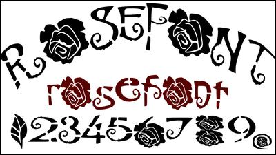無料で使える超絶優雅な雰囲気を演出可能な薔薇をイメージしたフォント「薔薇フォント」