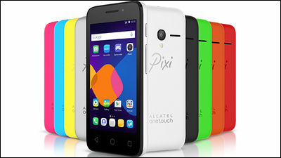 Android・Firefox OS・Windows Phoneから好みのOSを選択可能なスマホ「Pixi 3」
