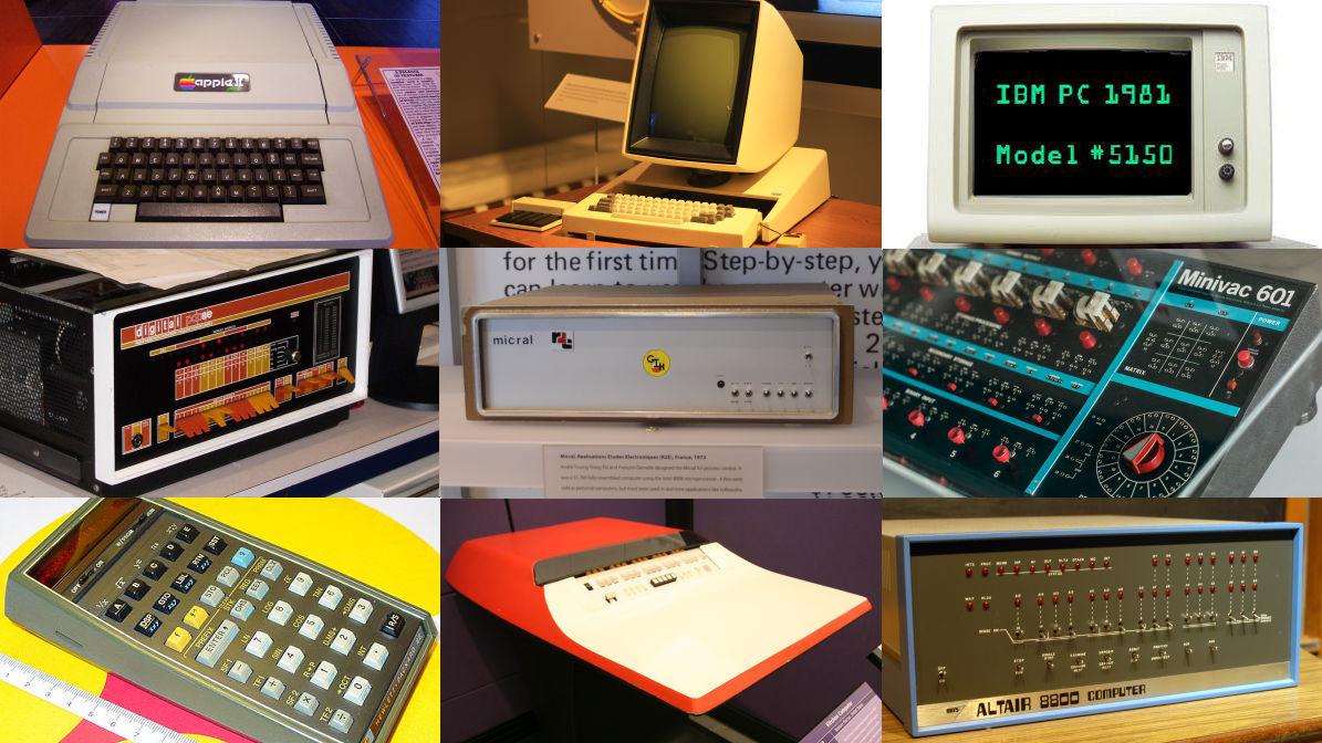 「Apple II」や「IBM 5100」といった名機の中で世界最初のPCは何なのか?