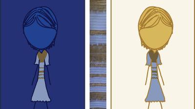 「色が変わるドレス」のような色の錯覚作品12パターン