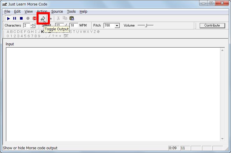 モールス 信号 解読 方法