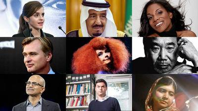 世界で最も影響力のある100人」2...