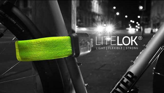 超頑丈なのに曲げて楽々持ち運べる軽量の自転車ロック「LITELOK(ライトロック)」
