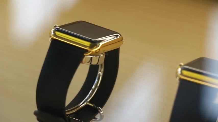激安で自分のapple watchをゴールドに変える150万回以上再生された