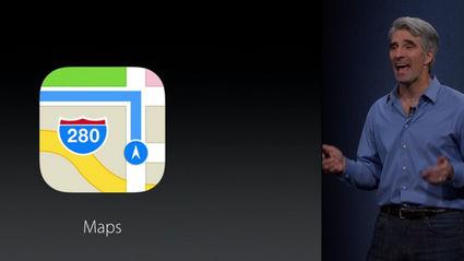 新しいiOS 9の「マップ」アプリは乗換案内機能をサポート