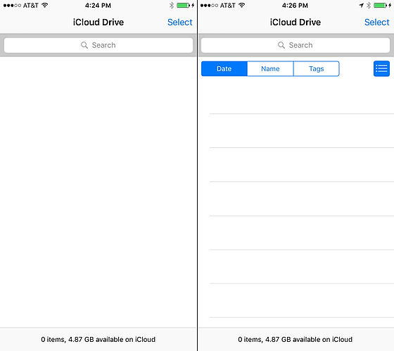 how to enable icloud drive