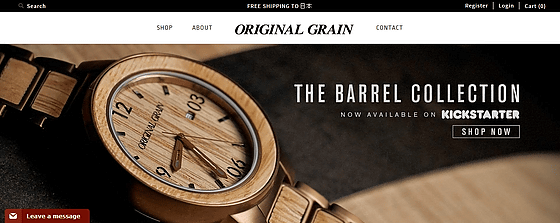 connection new men luxury s original grain in apple mens whiskey itm the barrel watches box gold watch w