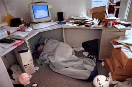 「会社で寝る」の画像検索結果
