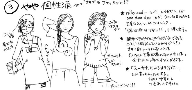 「オタク女の教えるほんとうのオタク女ファッション」が公開中