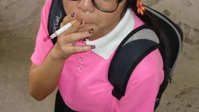 若い年齢でタバコを吸うと脳に何...