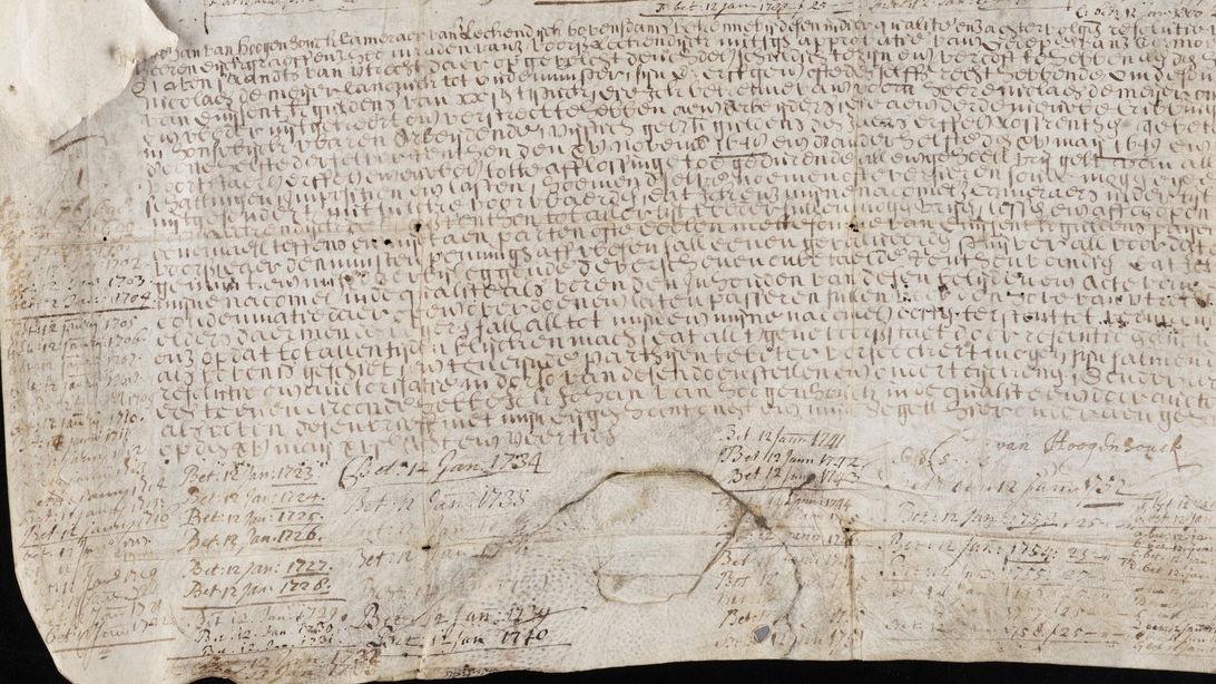 1648年に発行された世界最古の「無期債券」の利子をイェール大学が2015年に受け取る