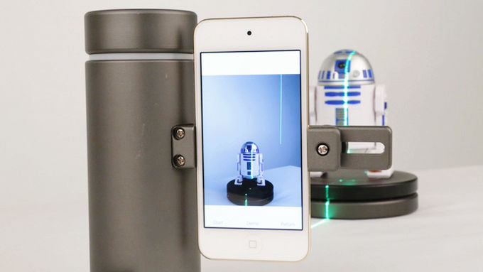 スマートフォンを2万円台で高精度の3Dスキャナーに変身させる ...