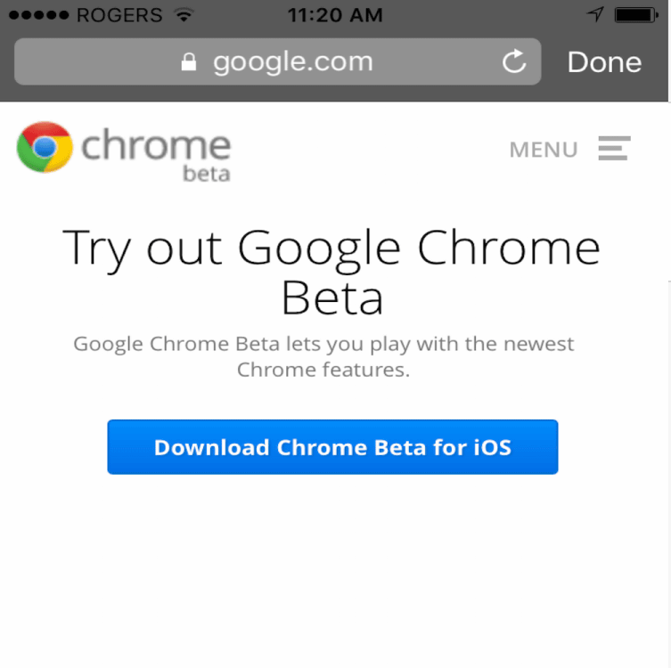 Google will support 3D Touch in beta version of Chrome application
