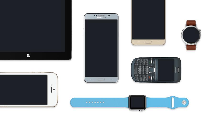 facebook designed smartphone tablet smartwatch etc png image for