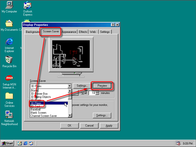 how to get windows 98 on windows 10