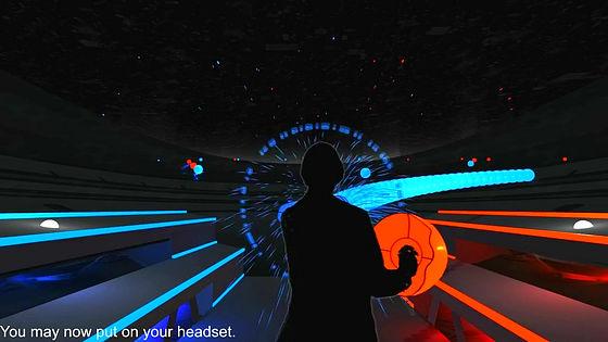 VR対応音ゲー「Audioshield」