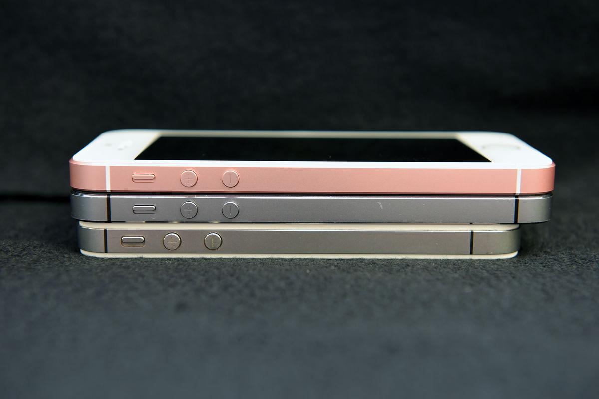 iphone se を歴代のiphone 4s 5s 6s 6spとサイズ比較してみた gigazine