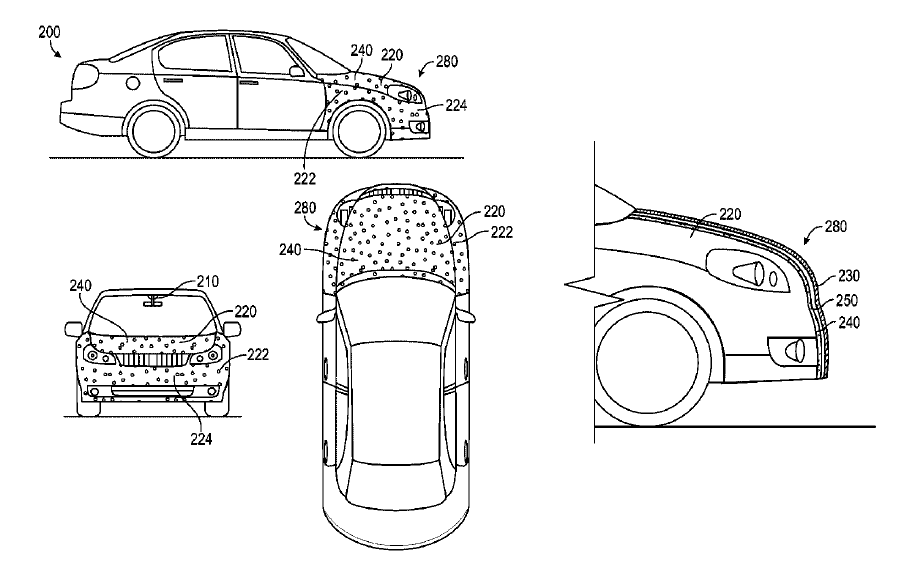 Google\'s automatic driving car gets an unexpected patent that ...