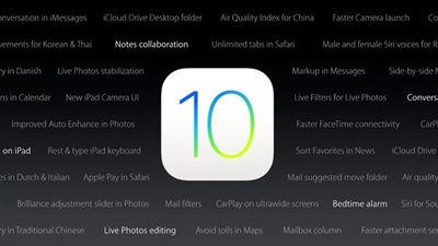 iPhone・iPad向け最新OS「iOS 10」が発表、10の新機能が追加されシリーズ史上最大のアップデートへ ...