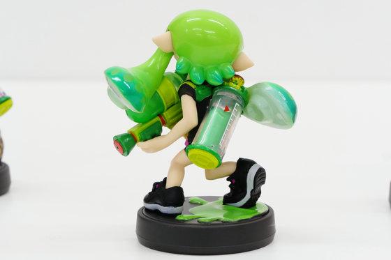 amiibo ガールライムグリーン