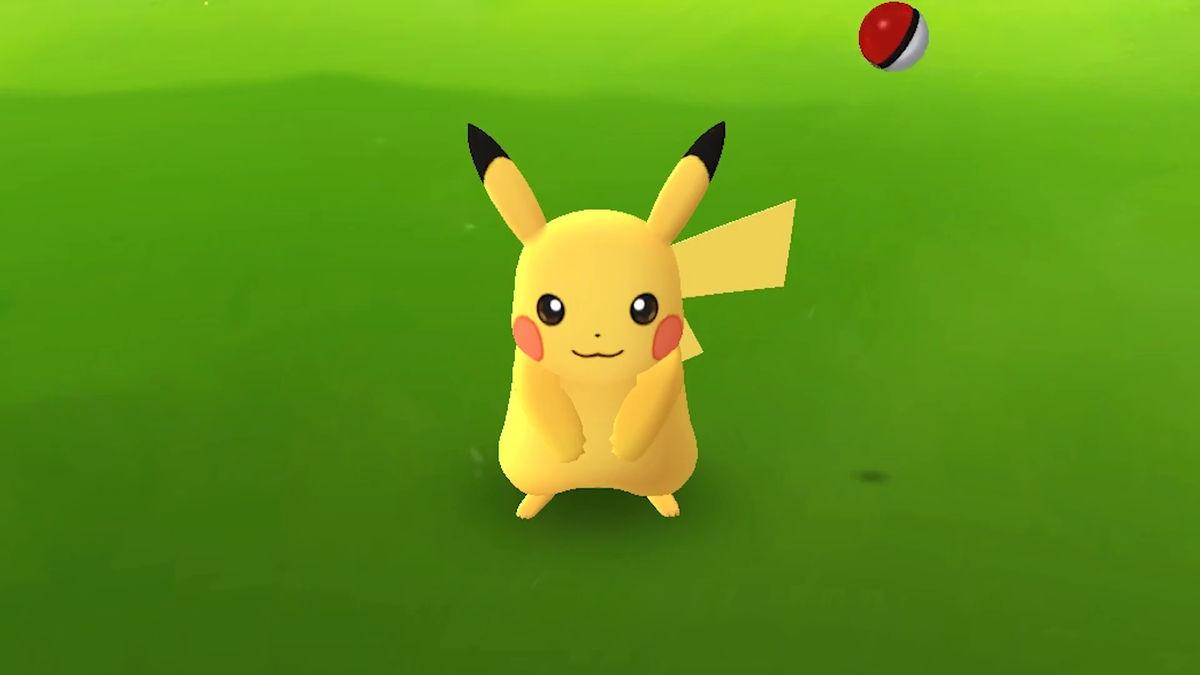 ポケモンgo(pokémon go)」のピカチュウのゲット方法・モンスターボール