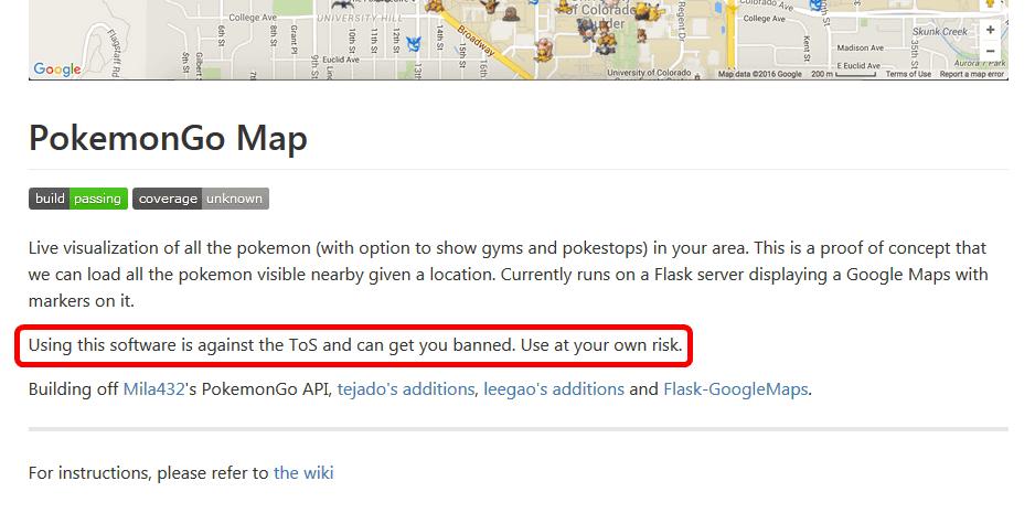 Pokemon Go Api Python