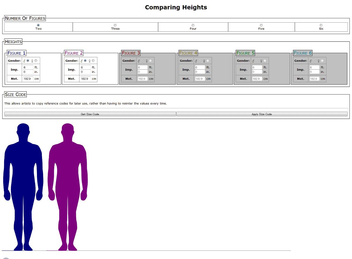To compared others height my How to