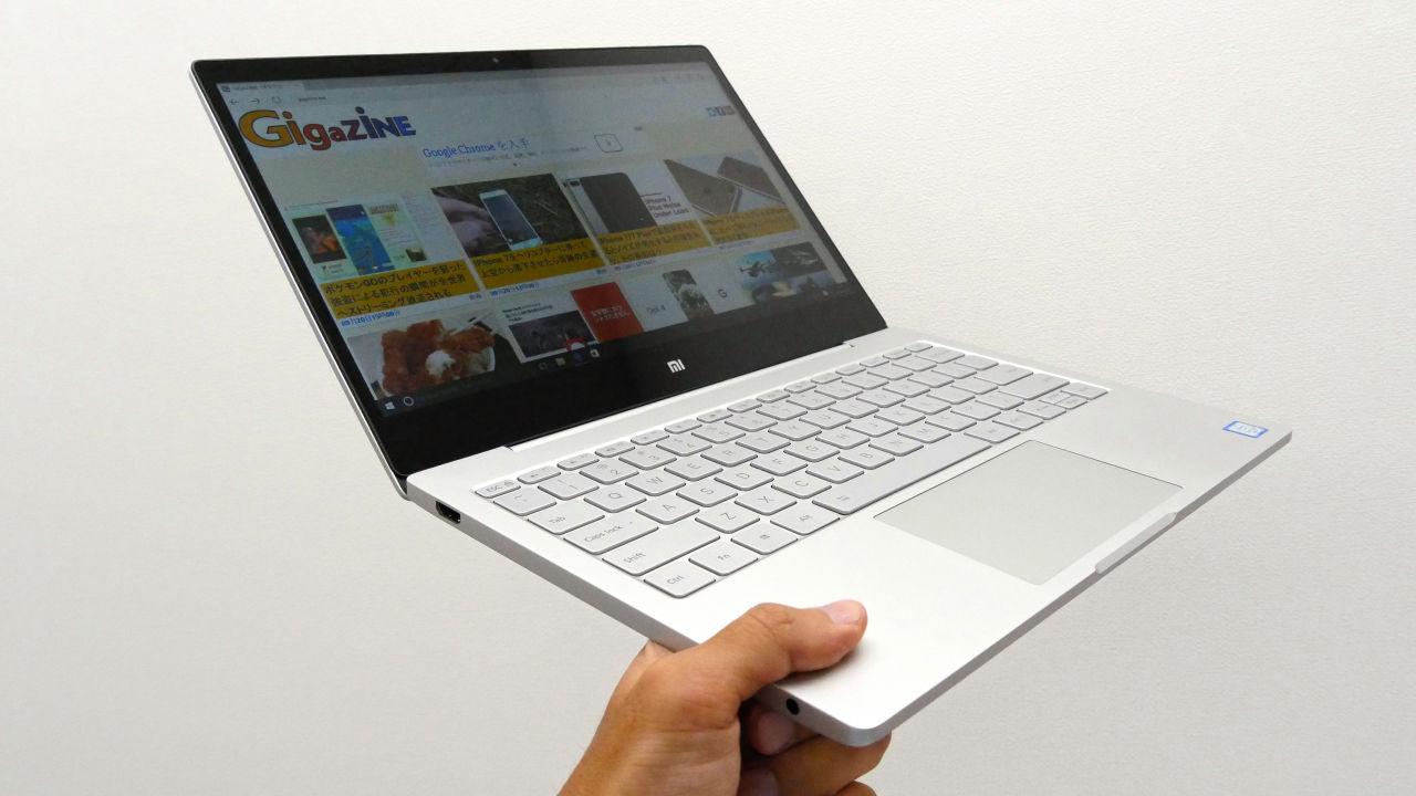 激安なのに重量約1kg&激薄ボディのxiaomi初ノートpc「mi Notebook Air」の使い方まとめ Gigazine