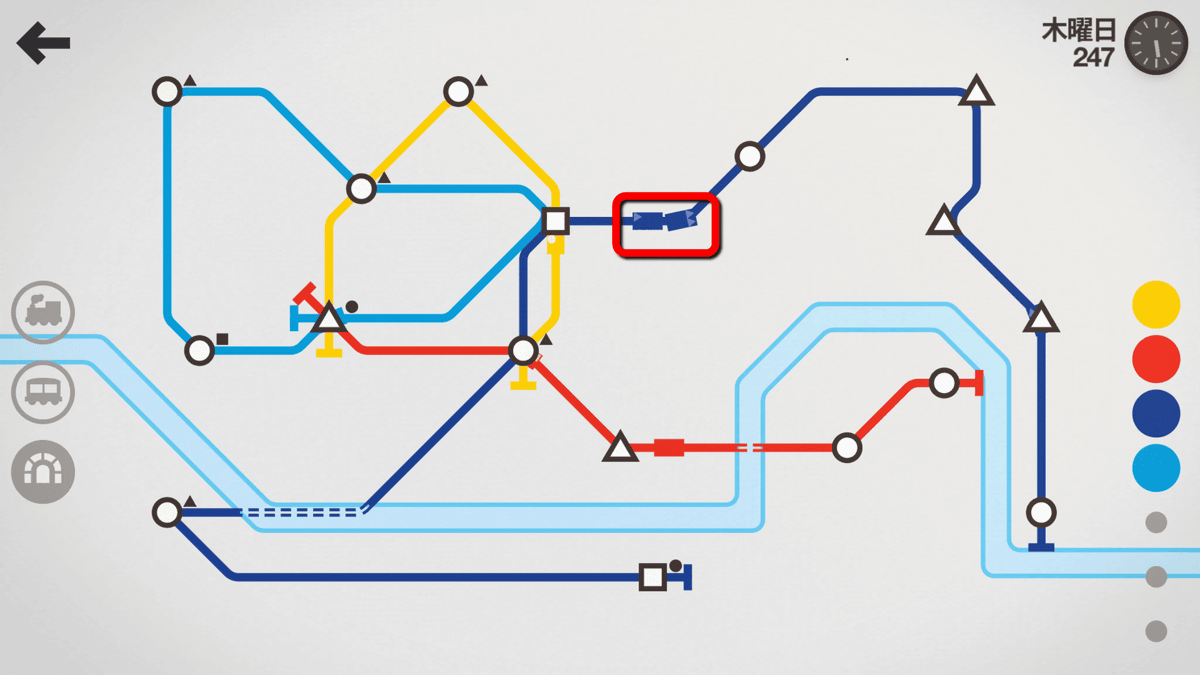 mini metro how to delete line