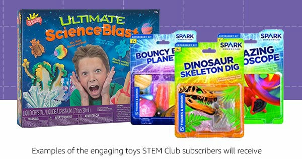 """Amazon launches """"STEM Club"""" service that allows you to ..."""