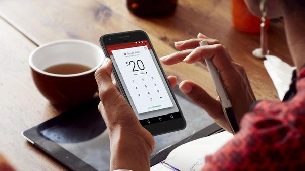 Gmailアプリが手数料無料でお金を送ったり受け取ったりできるようにアップデート