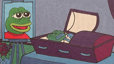 ぺぺ カエル 「カエルのペペ」永眠極右の象徴にされた漫画キャラ、作者が死なす 写真1枚