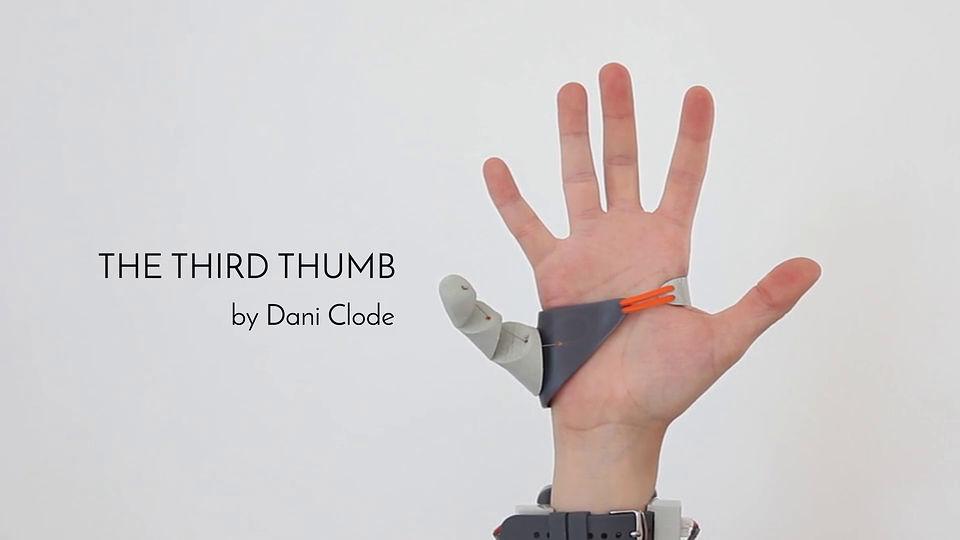 小指の隣に 第三の親指 を追加してしまうという創作プロジェクト the