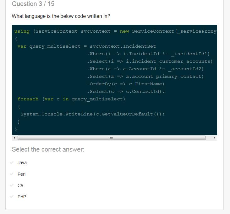 ソースコードを見てどのプログラミング言語なのかを特定するクイズ