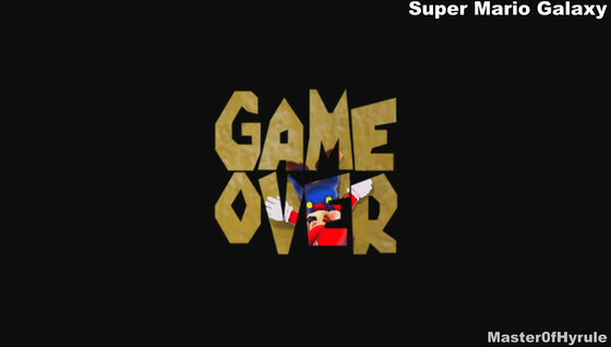 When you summarize the moments of game over of successive Mario