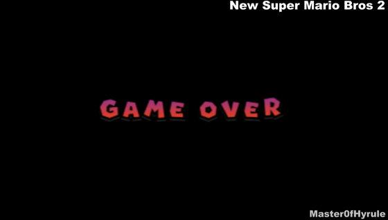 歴代マリオ 新作オデッセイのゲームオーバーの瞬間をまとめるとこんな