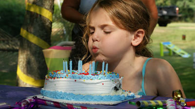 Blowing Out The Fire Of Birthday Cake Candle Will Make Bacteria In 1400