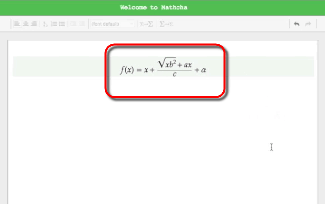 Online Mathematics Editor Mathcha Which Can Draw Full Fledged