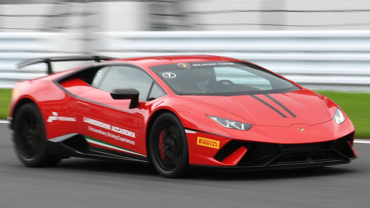 "the world's fastest super car ""lamborghini urakan perforumte"" test"