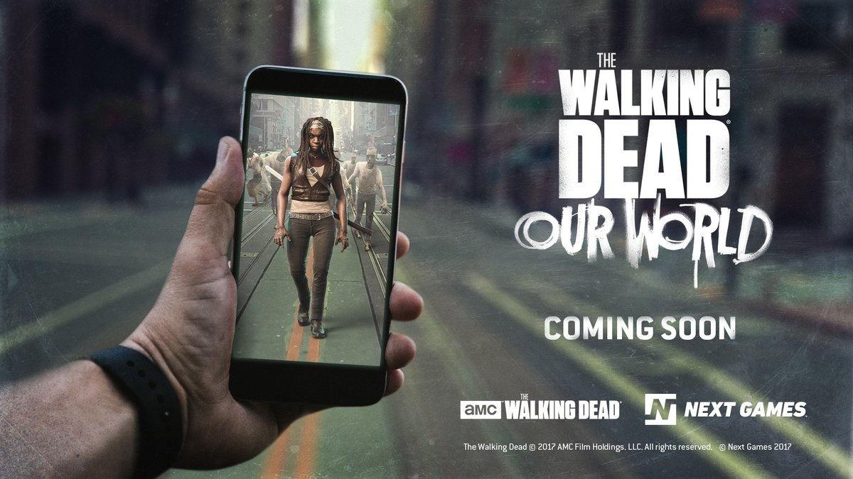 あのウォーキング・デッドがポケモンgo風のarゲーム「the walking dead