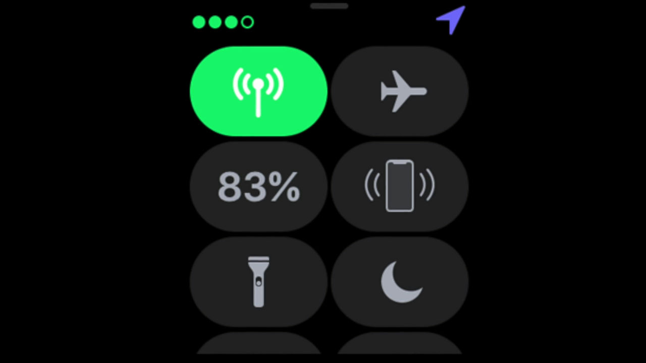 i icon on apple watch