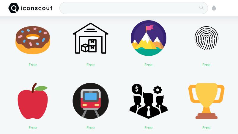 無料で3万7000種類以上のアイコンが商用利用できる iconscout gigazine