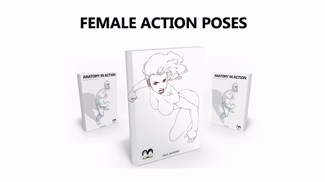 Female Action Poses That Draws A Womans Cool Pose With More Than