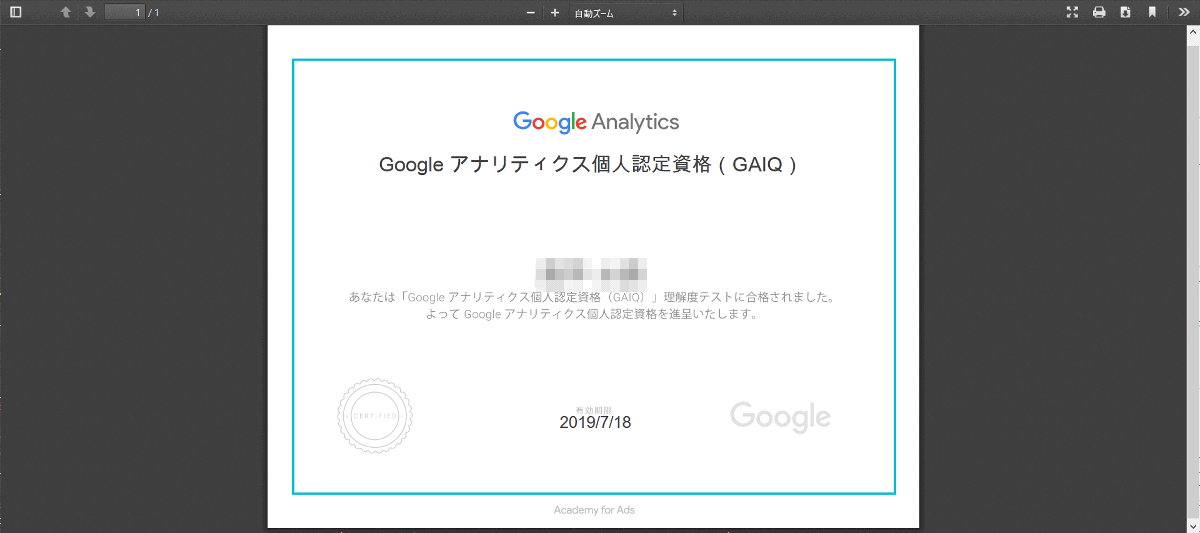 I tried the Google official course & qualification