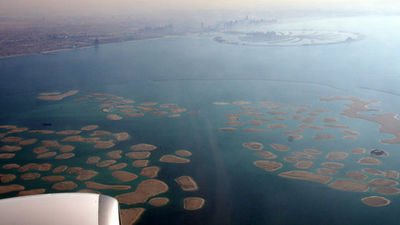 What is the current dubai artificial island the world built on the what is the current dubai artificial island the world built on the sea simulating a world map gumiabroncs Gallery