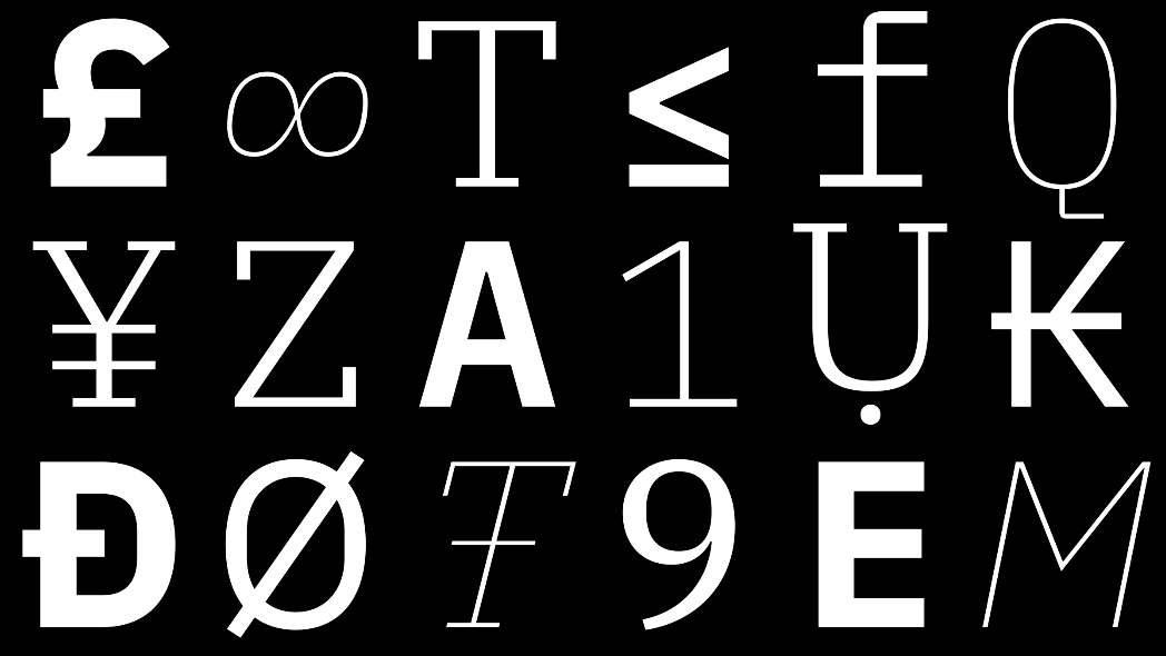 IBM has released a new open source font