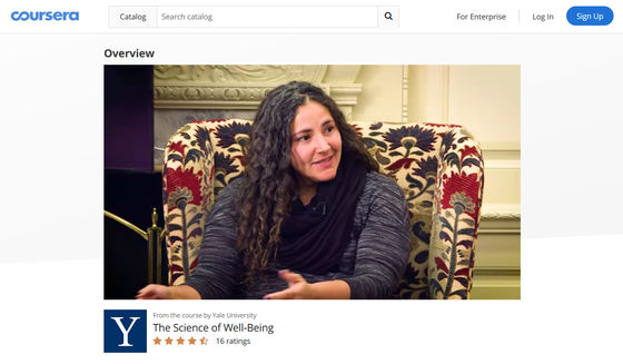 coursera the science of well being